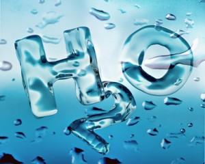 H2O Schuld für gelbe Zähne