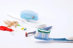 Hygiene mit der Zahnseide